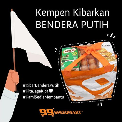 99 speed mart white flag campaign