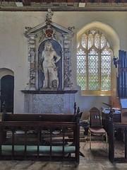 Edmund Soame in the chancel