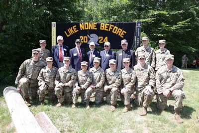 Cadet Field Training Graduation & Flag Ceremony: USMA Class of 2024