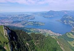 Jezero Vierwaldstättersee (Lucerské jezero)