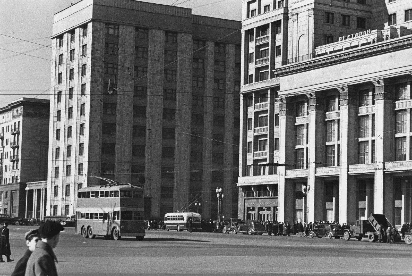 1947. Госплан и гостиница «Москва»