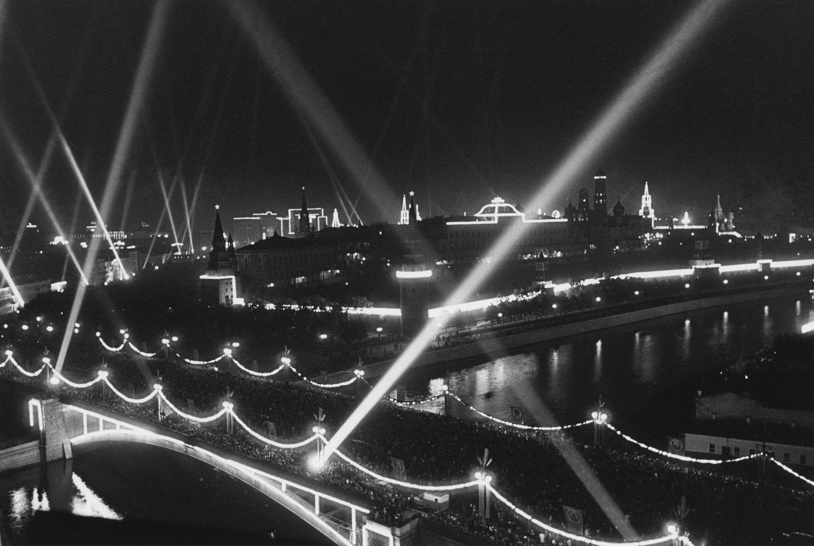 1947. 800-летие Москвы. Иллюминация. 7 сентября (4)
