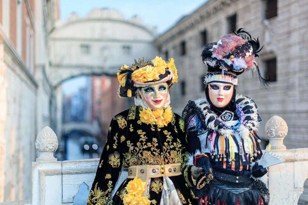Carnavales de Venecia.
