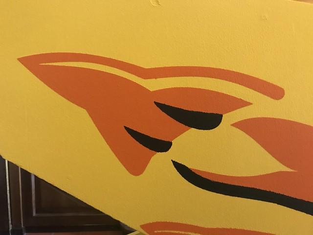 Scramble Side Art Detail