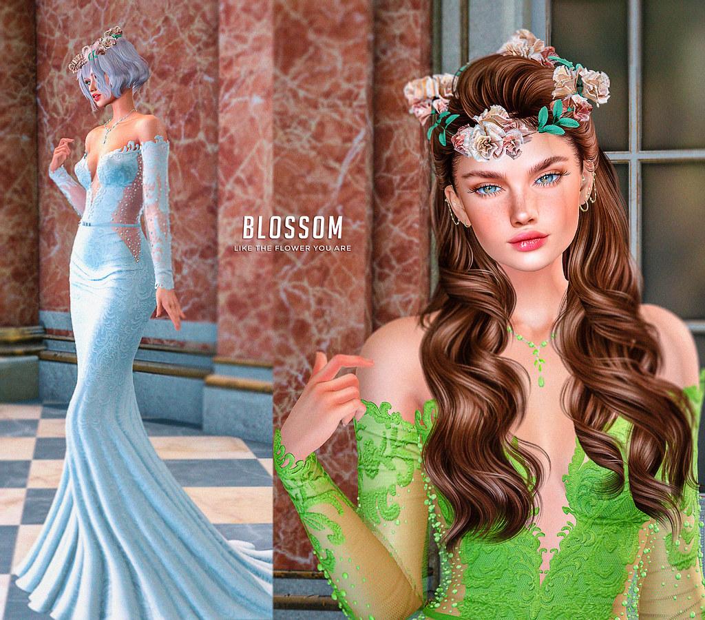 BLOSSOM like the flower you are ♥ UPDATE Lelutka evo X 3.1