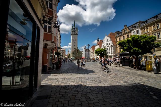 Straubing lebendiger Marktplatz