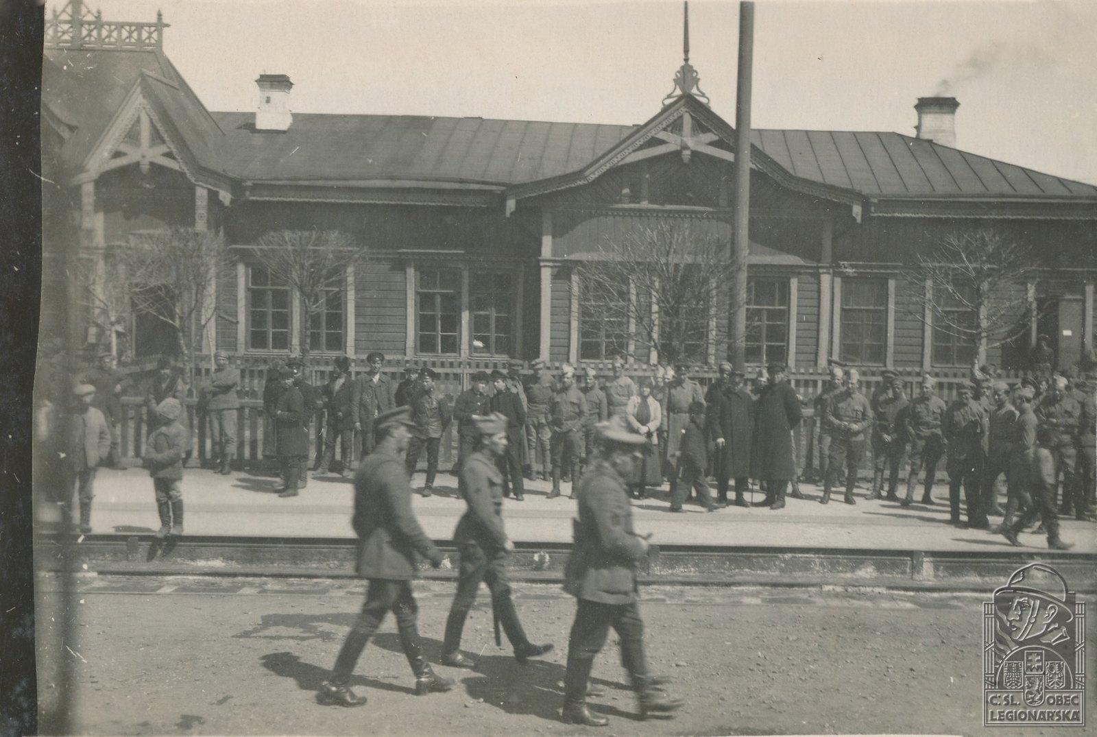 34.1919. Генерал Ян Сыровы в Нижнеудинске