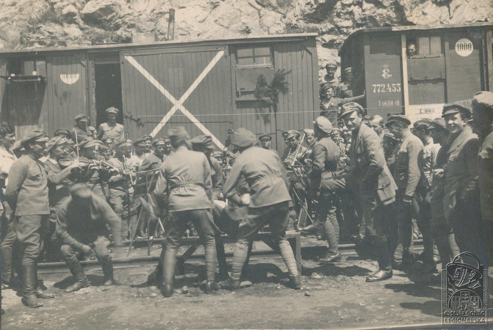31. 1919. Праздничная терка старейшему повару 4-го полка.