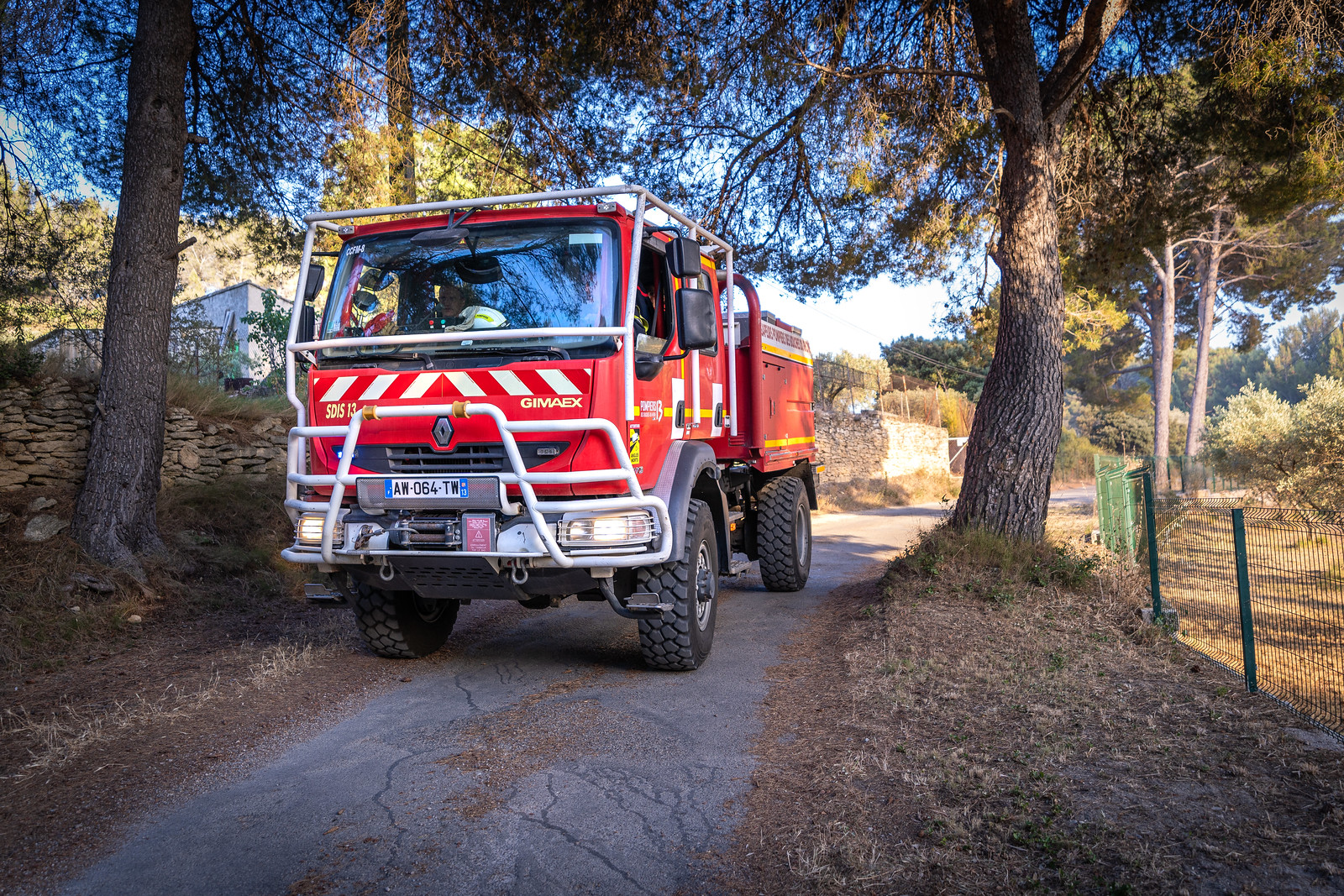 Opérations : l'été démarre fort pour les Pompiers13
