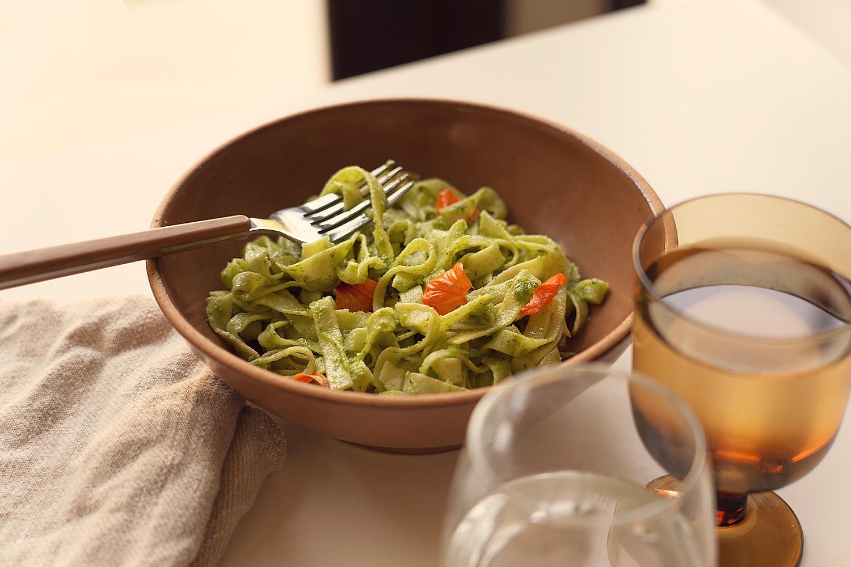12-nasturtium-pesto-pasta-homegrown-farmtotable-recipe-food