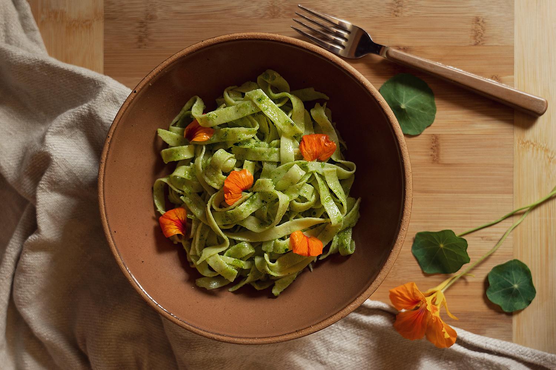 11-nasturtium-pesto-pasta-homegrown-farmtotable-recipe-food