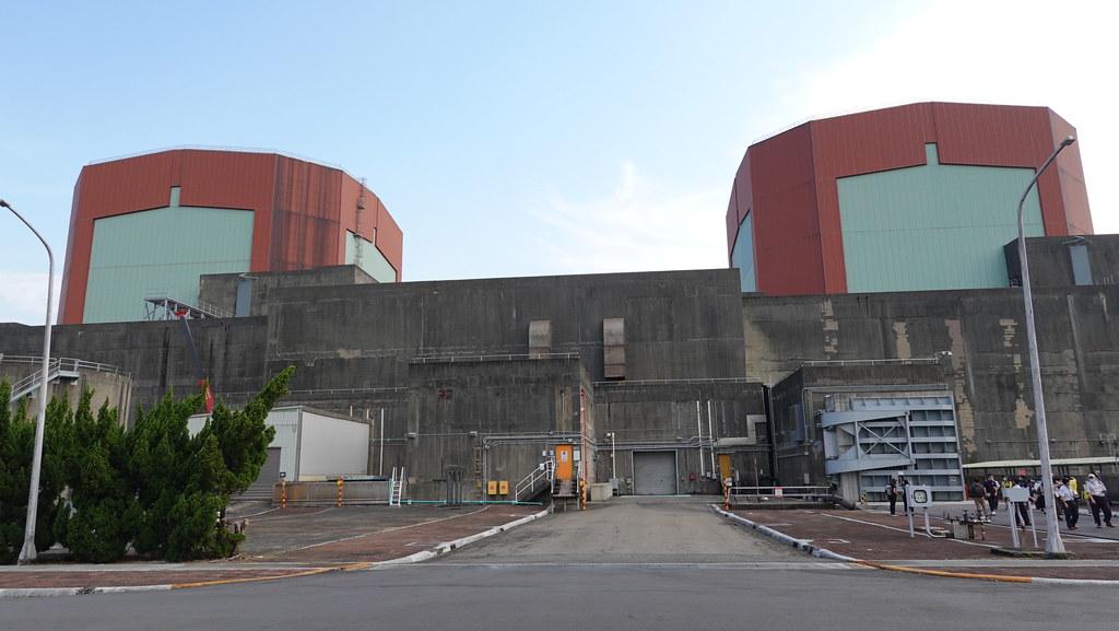 第二核能發電廠。孫文臨攝