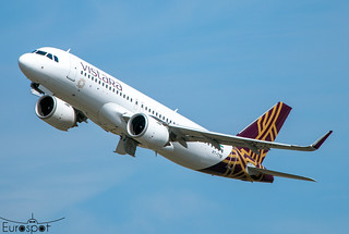 VT-TYB Airbus A320-251N VISTARA s/n 10433 - Delivery flight * Toulouse Blagnac 2021 *