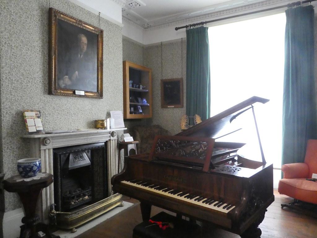 The Music Room, Holst Birthplace Museum, Cheltenham
