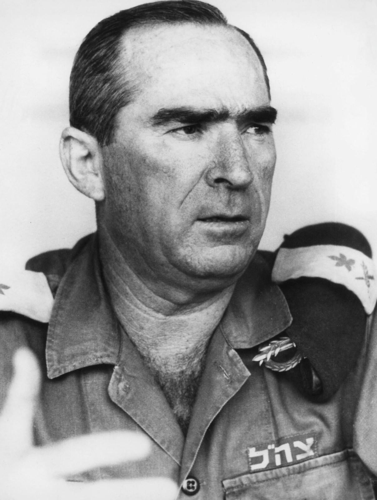1978. Портрет израильского политика генерала Рафаэля Эйтана, 30 января