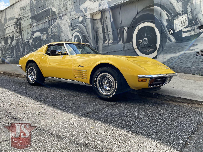 Corvette 1972 Targa Stingray LT1