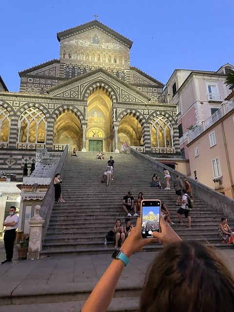 Den Dom von Amalfi voll im Blick