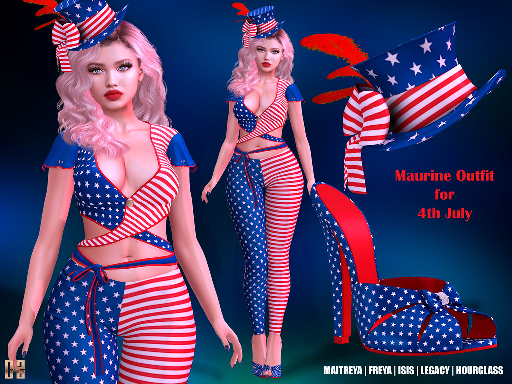 Hilly Haalan – Maurine Outfit for 4th July