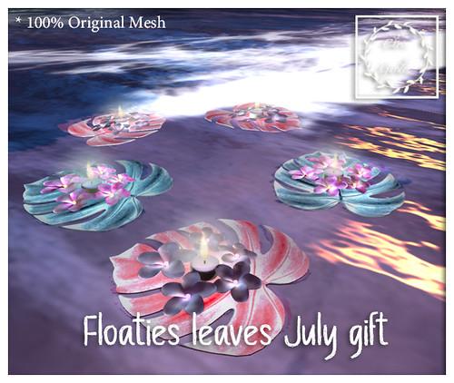 Floaties leaves gift