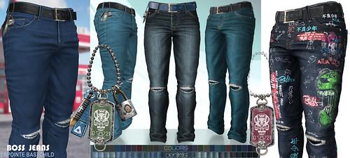 L&B @ Fameshed July - Boss Denim & Color Jeans!