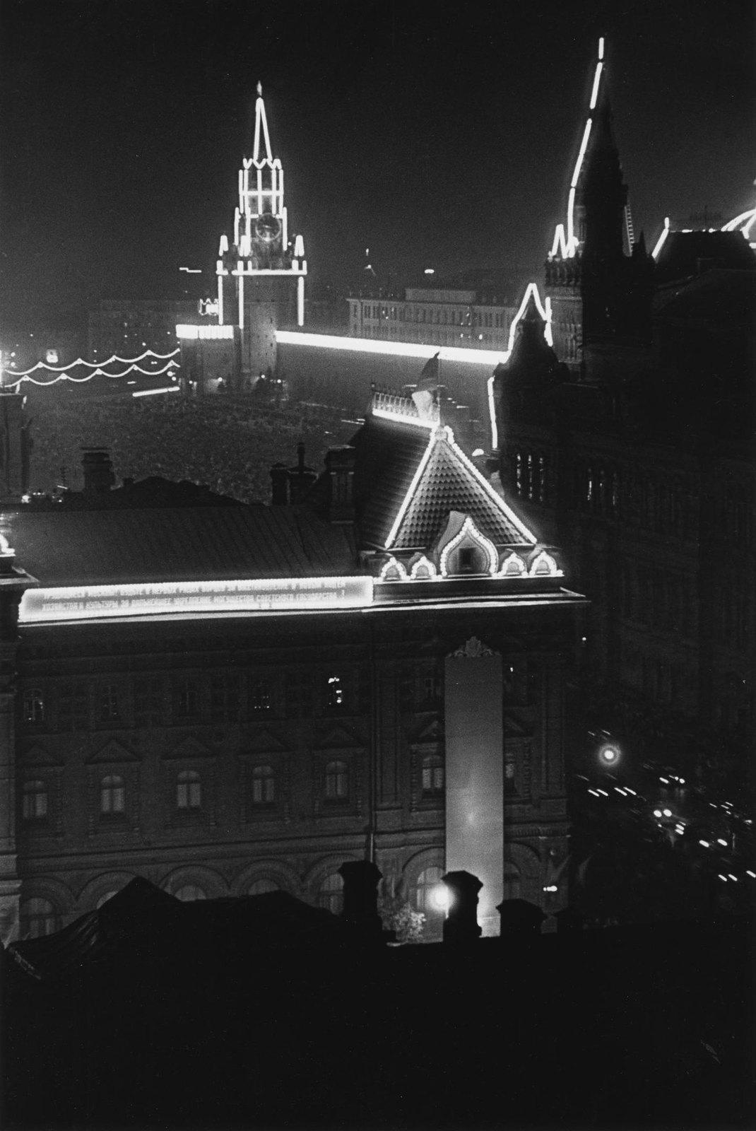 1947. 800-летие Москвы. Иллюминация. 7 сентября (1)