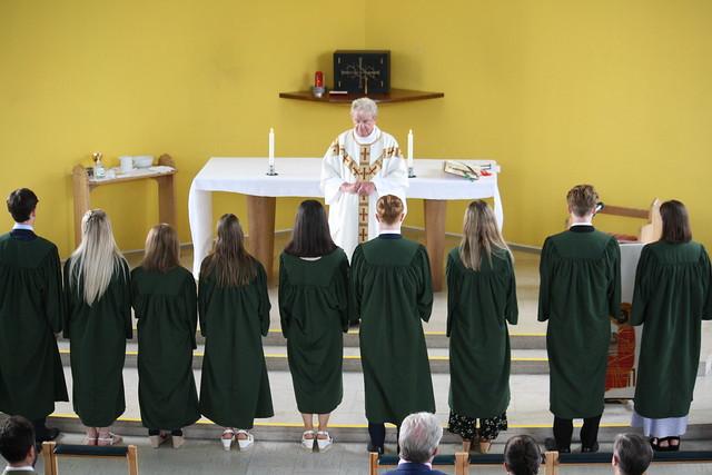 Year 13 Leavers' Mass and Tea