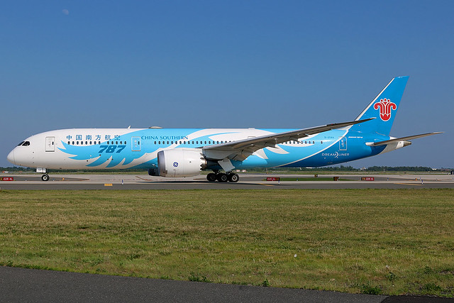 B-20AA | Boeing 787-9 Dreamliner | China Southern Airlines