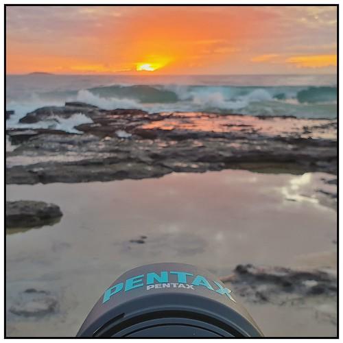 steveselbyphotography steev steveselby pentax pentaxk1 ricoh samsung s9 snapseed sunrise dawn water waves sea ocean