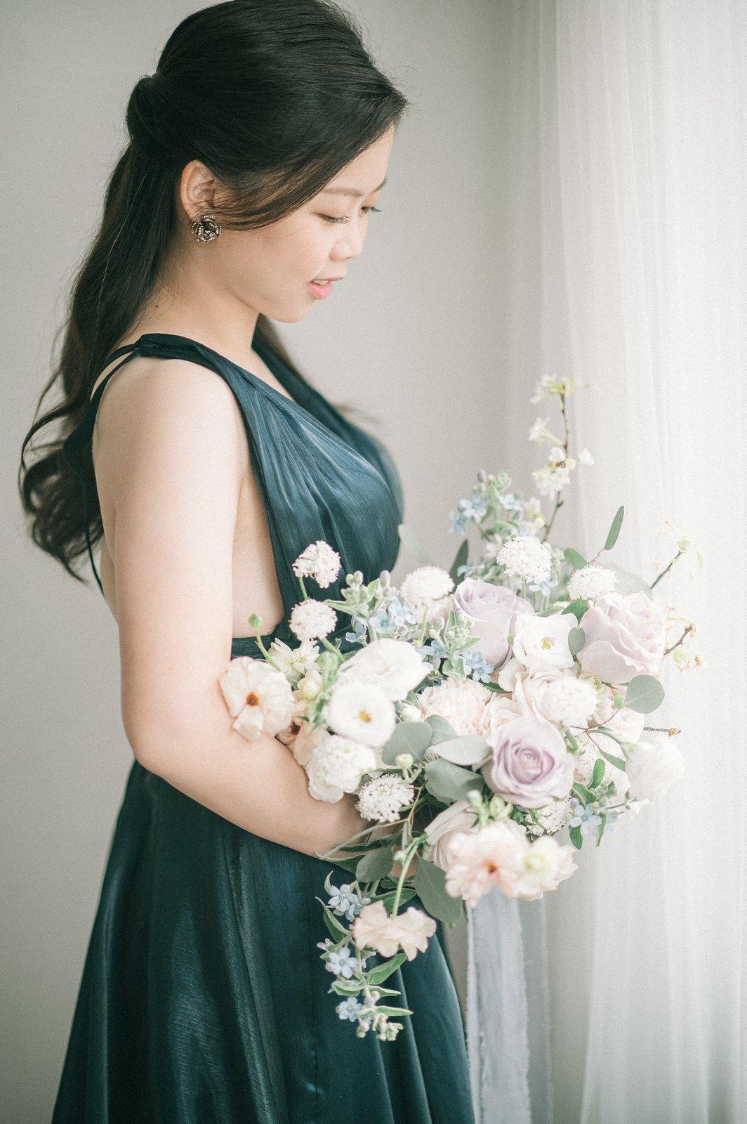 【婚紗】Jie & Nien / 台北市召會十會所 / 眷村婚紗 / 政大河堤