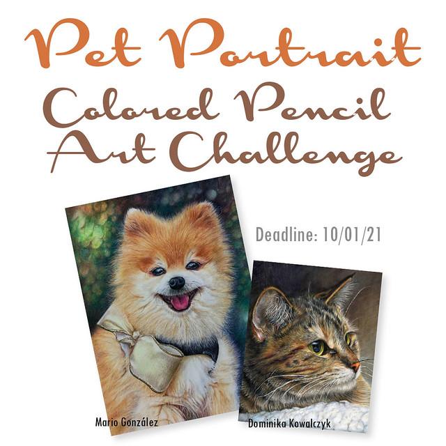 Pet Portrait 2021 Challenge