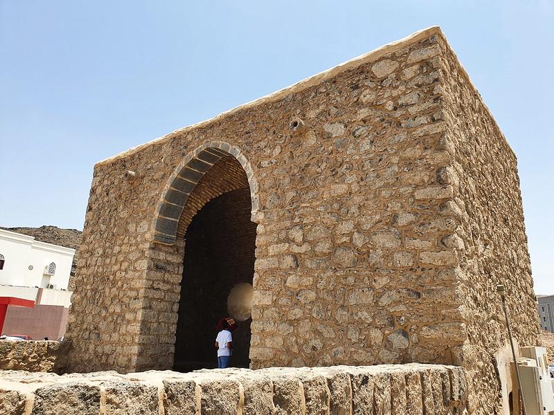 Mosque of Umar ibn al-Khattab at the Seven Mosques, Madinah, Saudi Arabia (3)