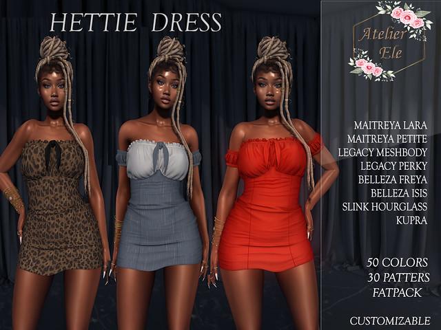 {AE}  HETTIE-DRESS