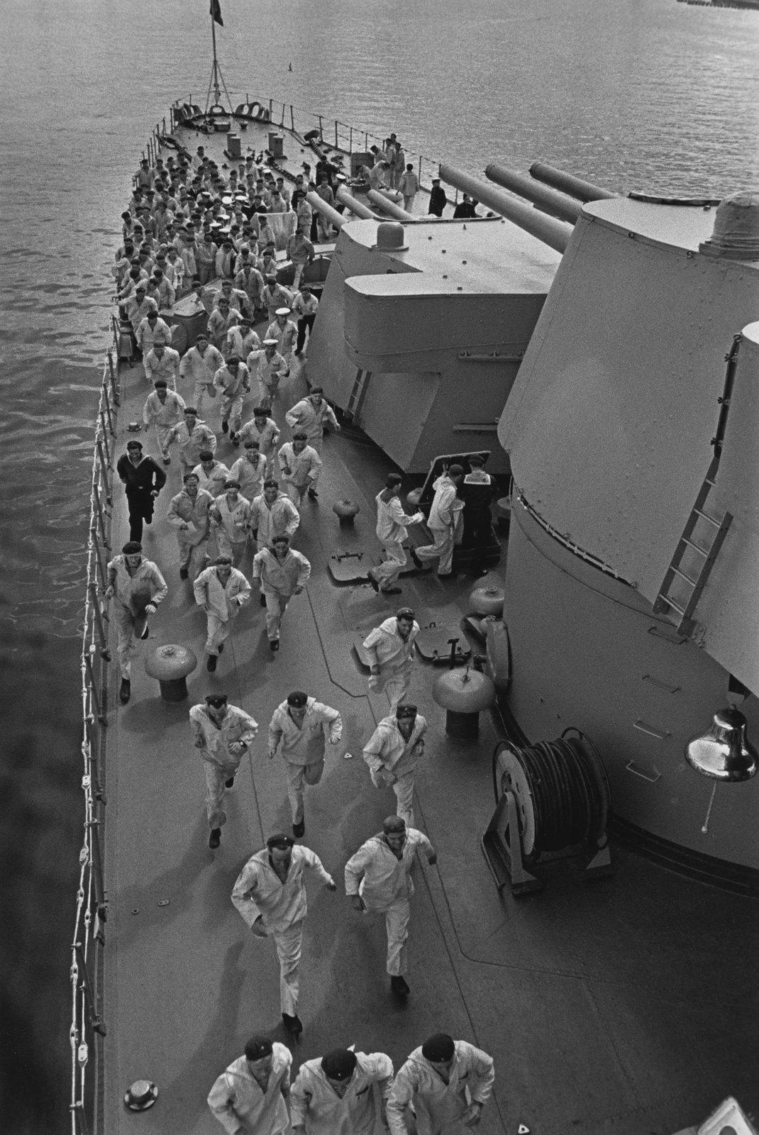 1950-е. На военном корабле