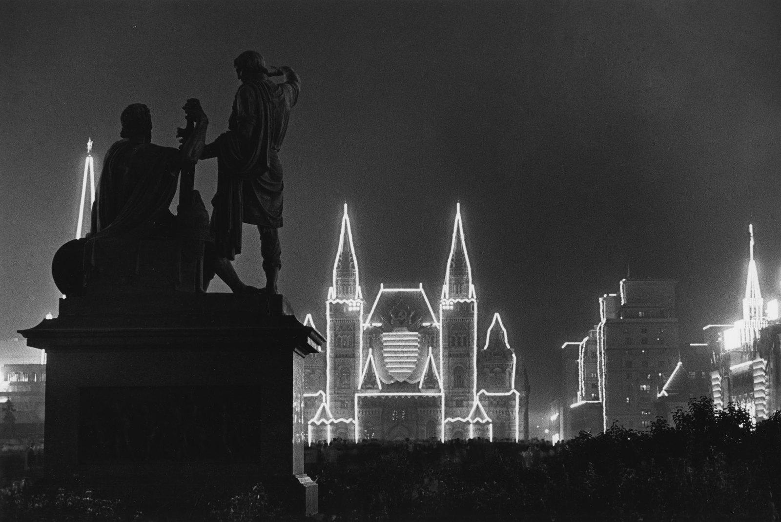 1947. 800-летие Москвы. Иллюминация. 7 сентября (3)