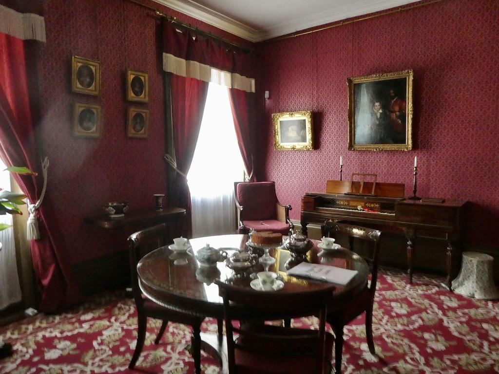 The Regency Dining Room, Holst Birthplace Museum, Cheltenham