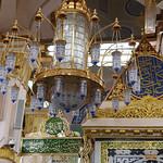 The Rawdah al-Sharifah in the Prophet's Mosque, Madinah, Saudi Arabia (5)