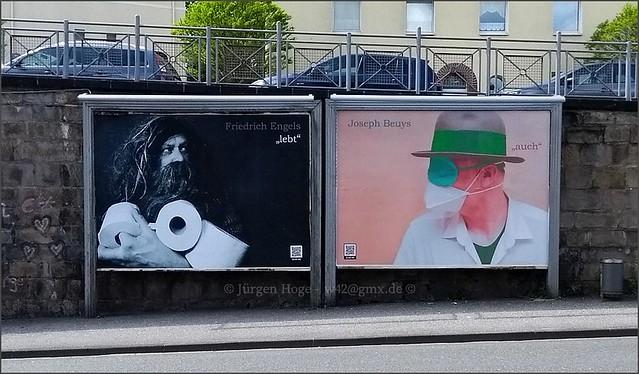 Friedrich Engels lebt - Joseph Beuys auch