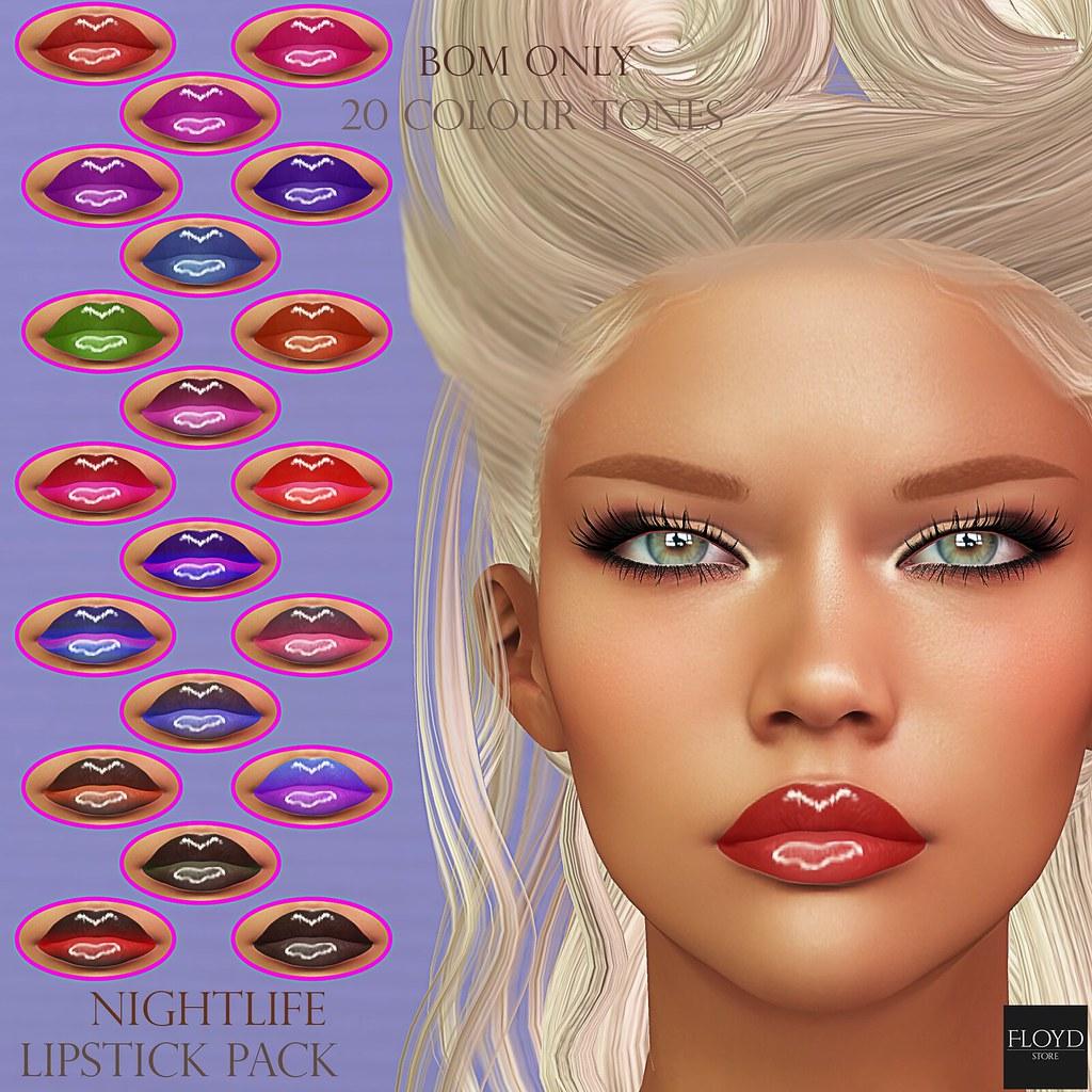 Nightlife Lipsticks Pack
