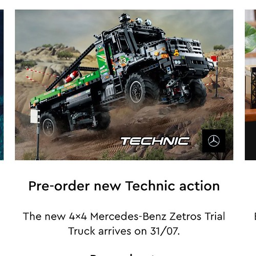 Nice looking truck on the LEGO.com website that I dont th