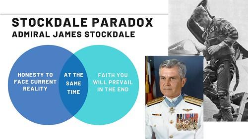 Paradoja de Stockdale, resiliencia de guerra para la vida cotidiana