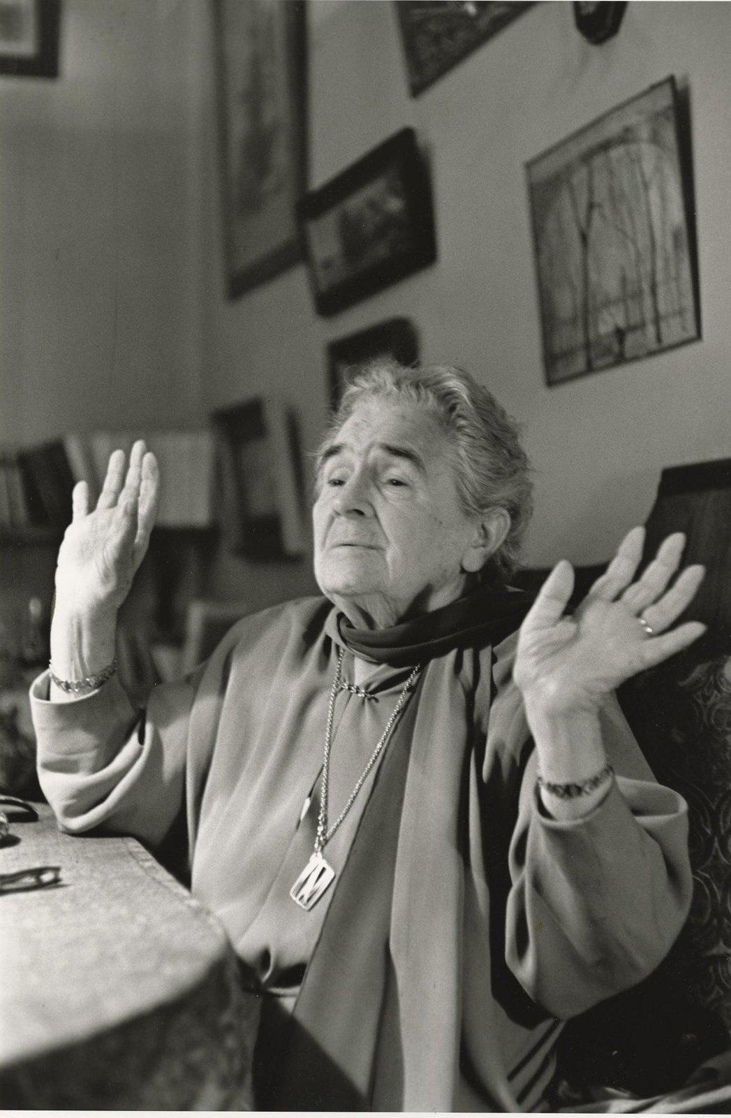 1958. Актриса Ольга Книппер-Чехова