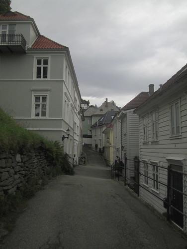 Street with Wooden Buildings, Bergen