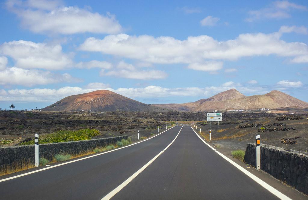 Carreteras de Lanzarote