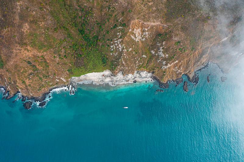 Playa de Isla Salango