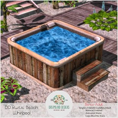 DD Rustic Beach Whirlpool-Adult
