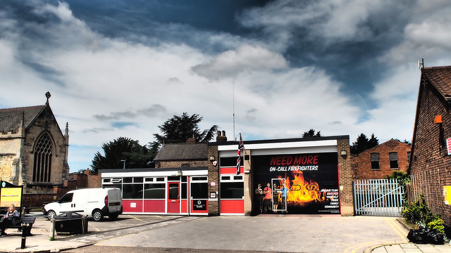The Fire Station, Snaith. North Yorkshire.
