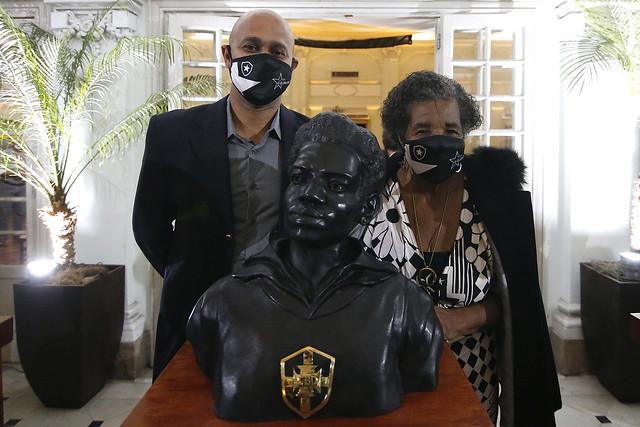 Botafogo inaugura Busto em Homenagem a Aída dos Santos - 01/07/2021