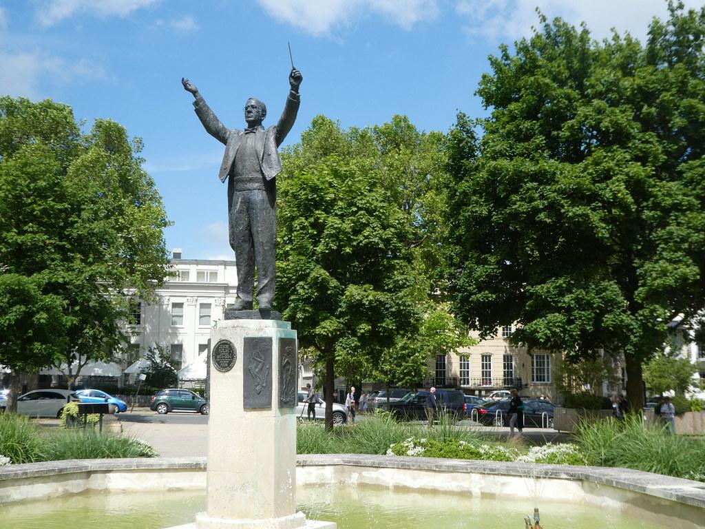Statue of Gustav Holst, Imperial Gardens, Cheltenham