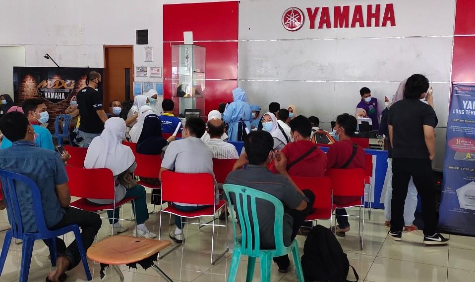 Main Dealer PT Thamrin Brothers Dukung Program Vaksinasi Covid-19 di Bengkulu