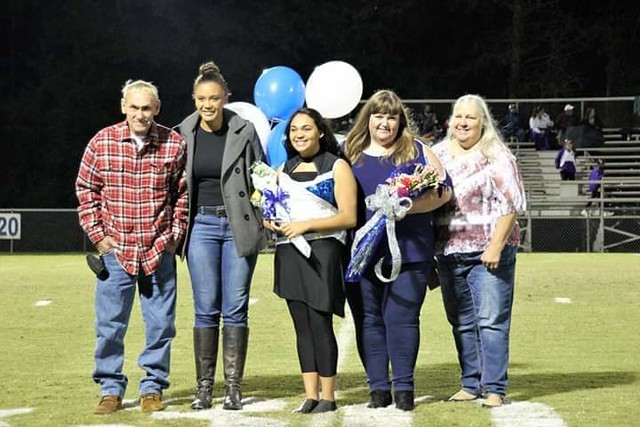 Brianna Jarvis and family.
